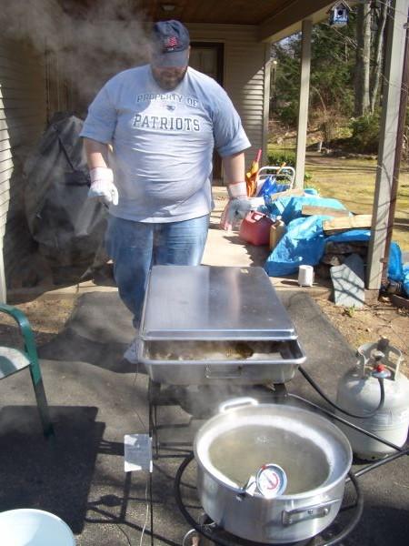 Backyard Maple Syrup Production