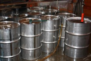 Maple syrup drums